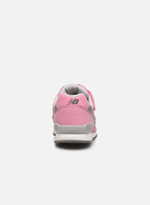 Trainers New Balance YV996 Pink view from the right