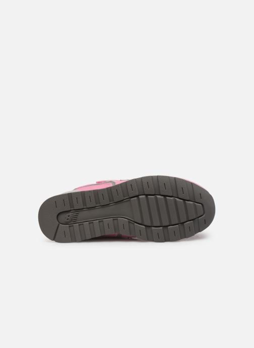Trainers New Balance YV996 Pink view from above