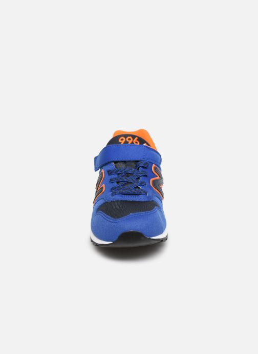 Trainers New Balance YV996 Blue model view