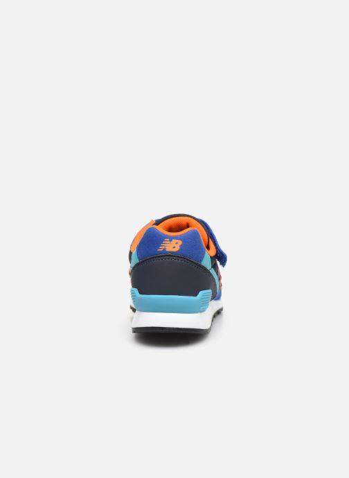 Baskets New Balance YV996 Bleu vue droite