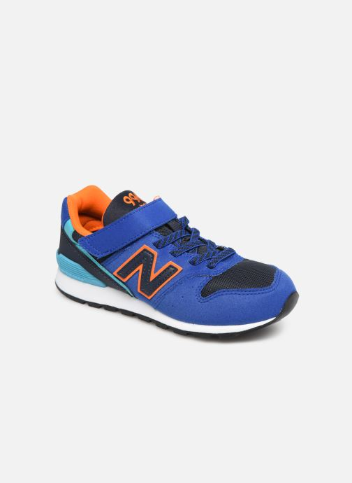 Trainers New Balance YV996 Blue detailed view/ Pair view