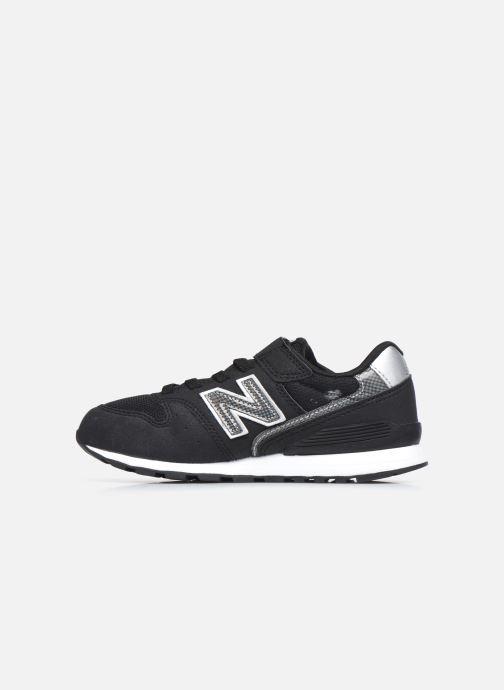 Sneakers New Balance YV996 Zwart voorkant