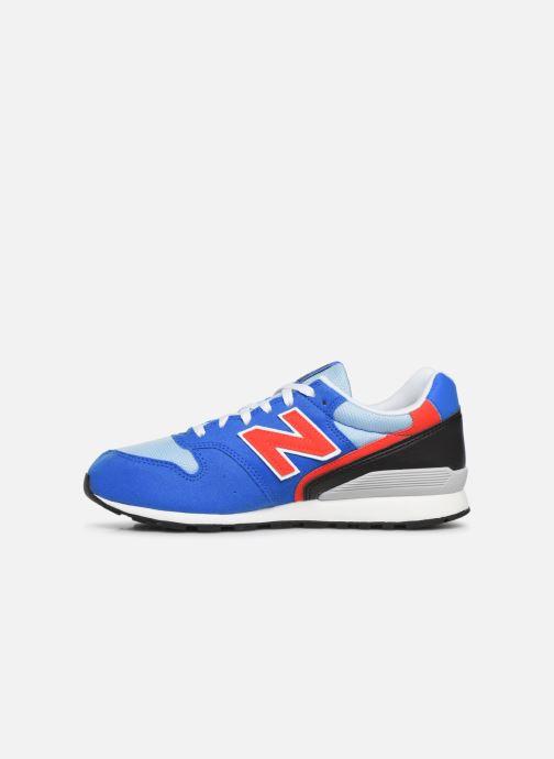 Sneakers New Balance YC996 Blauw voorkant