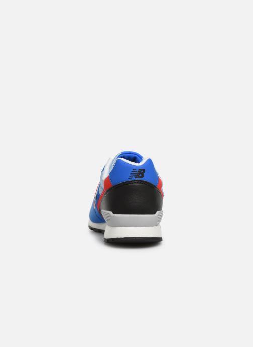 Baskets New Balance YC996 Bleu vue droite