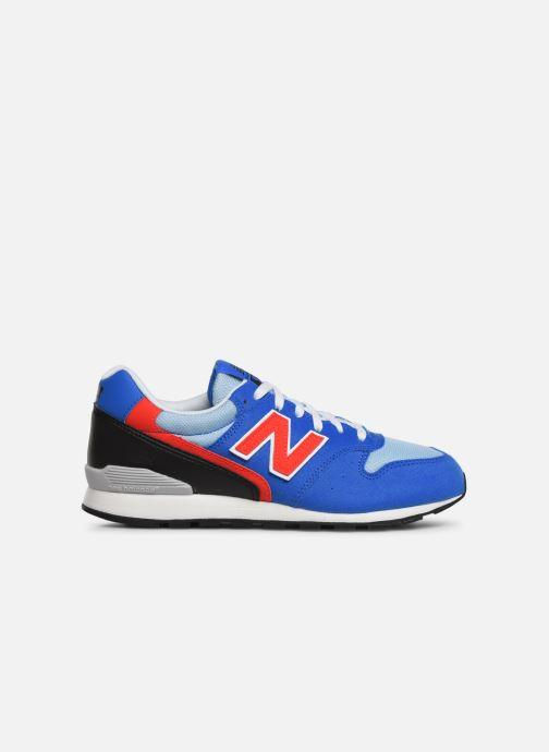 Sneakers New Balance YC996 Blauw achterkant
