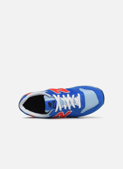 Trainers New Balance YC996 Blue view from the left