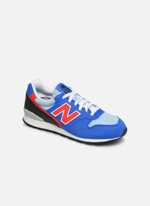 Trainers New Balance YC996 Blue detailed view/ Pair view