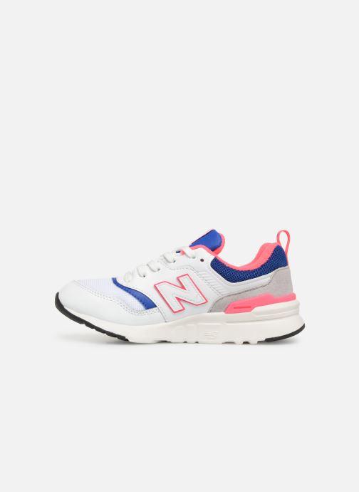 Sneakers New Balance PR997 Wit voorkant