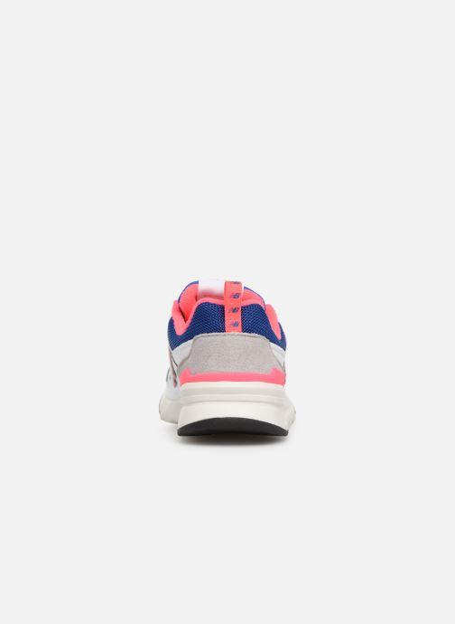 Sneakers New Balance PR997 Wit rechts