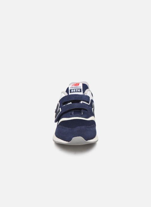 Baskets New Balance PZ997 Bleu vue portées chaussures