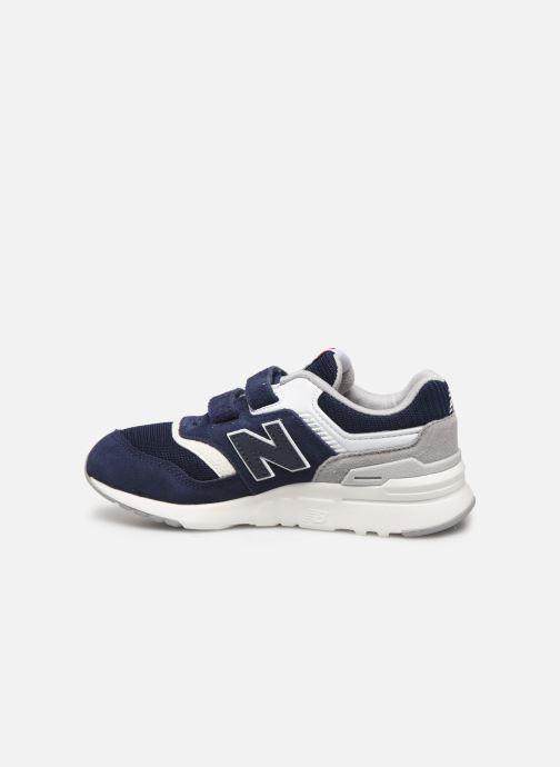 Sneakers New Balance PZ997 Blauw voorkant