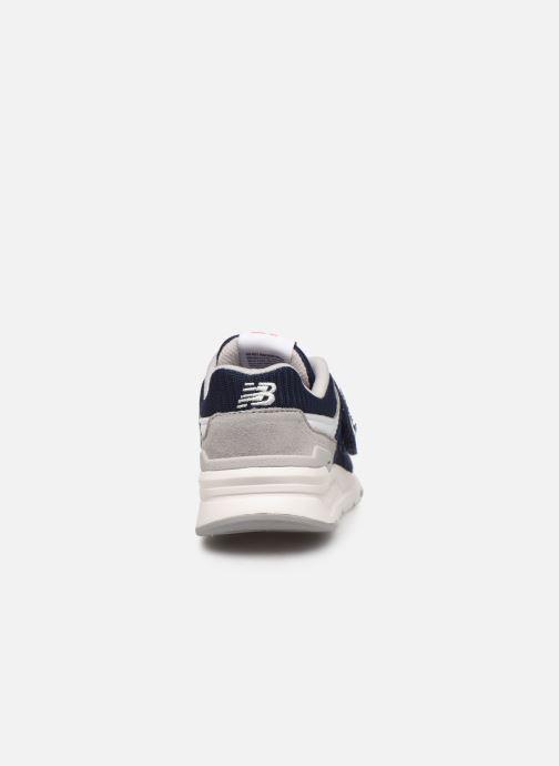 Baskets New Balance PZ997 Bleu vue droite