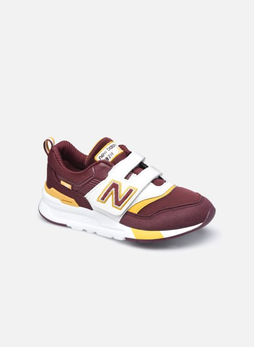 Baskets New Balance PZ997 Rouge vue détail/paire