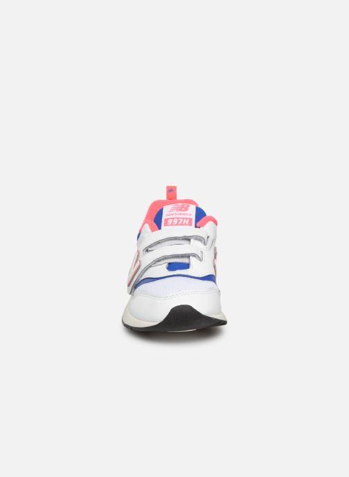 Sneaker New Balance Kz997 weiß schuhe getragen