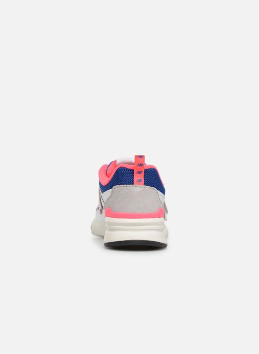 Sneaker New Balance Kz997 weiß ansicht von rechts
