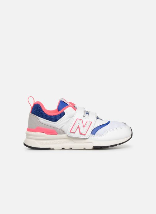 Sneaker New Balance Kz997 weiß ansicht von hinten