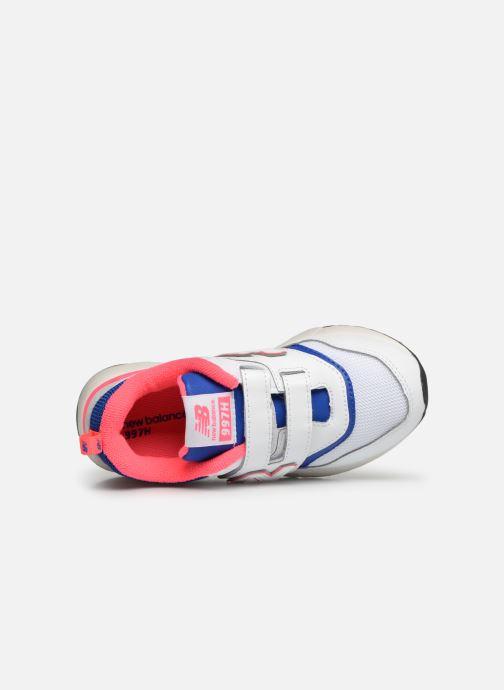 Sneaker New Balance Kz997 weiß ansicht von links