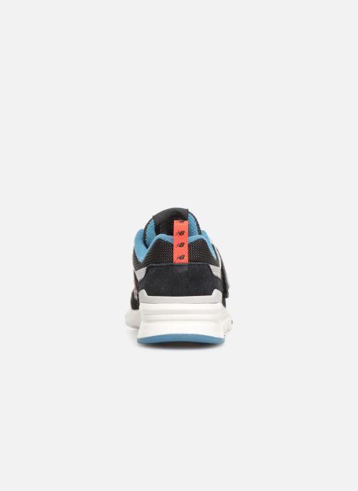 Sneaker New Balance Kz997 schwarz ansicht von rechts
