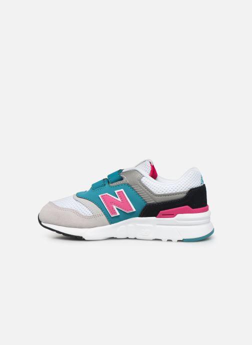 Sneakers New Balance Kz997 Wit voorkant