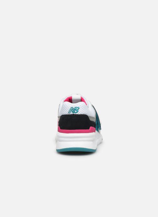 Sneakers New Balance Kz997 Wit rechts