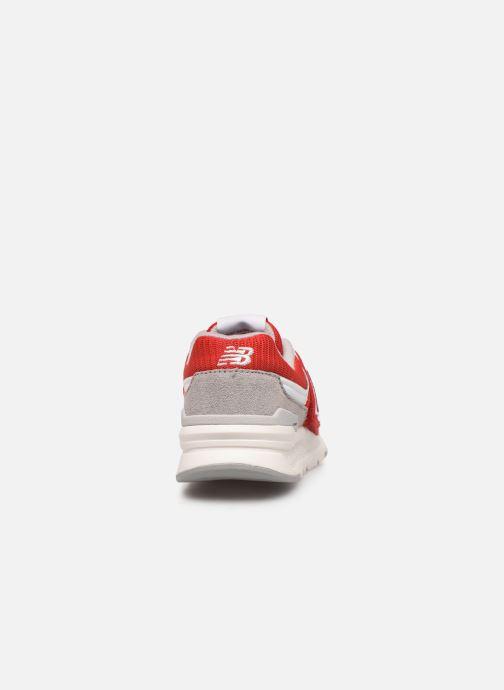 Baskets New Balance Kz997 Rouge vue droite