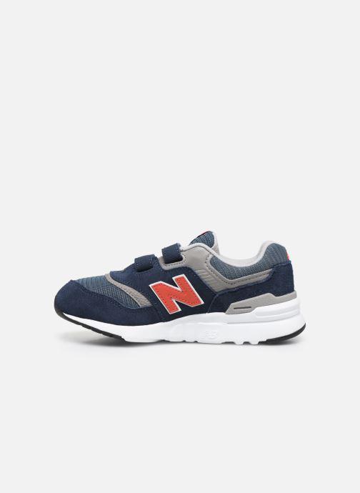 Sneakers New Balance Kz997 Blauw voorkant