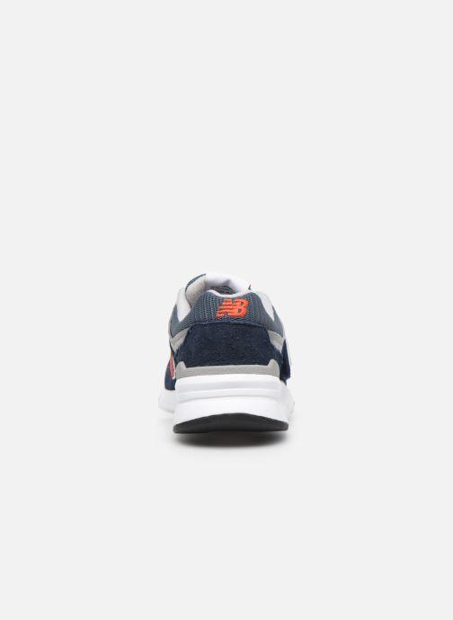 Sneakers New Balance Kz997 Blauw rechts