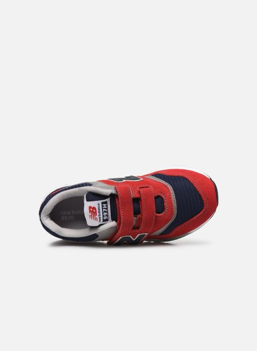 Trainers New Balance Kz997 Red view from the left