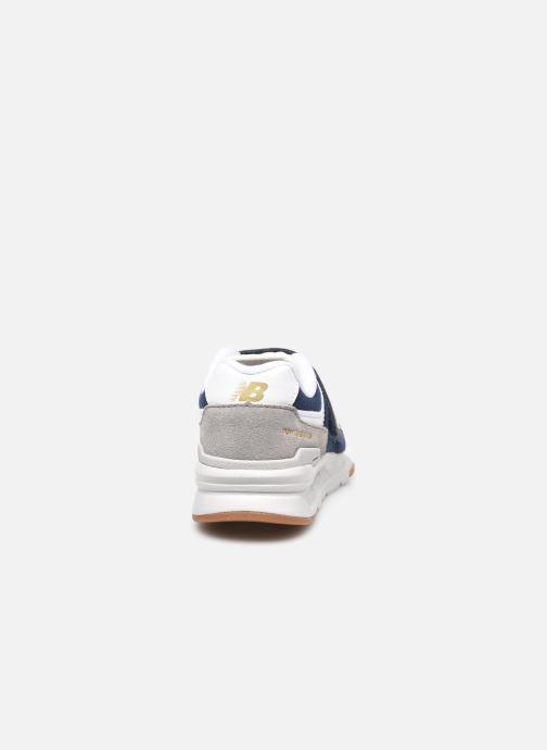 Sneaker New Balance Kz997 blau ansicht von rechts