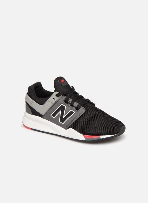 Sneakers New Balance GS247 Svart detaljerad bild på paret