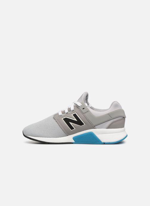 Sneakers New Balance GS247 Grijs voorkant
