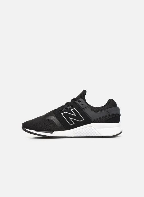 Sneakers New Balance GS247 Zwart voorkant