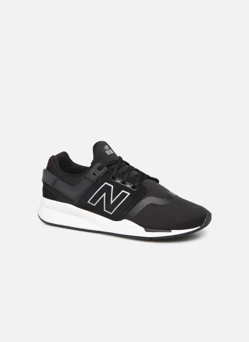 Sneakers New Balance GS247 Zwart detail