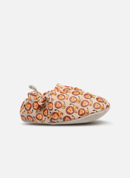 Slippers Poco Nido Happy Lions Beige back view