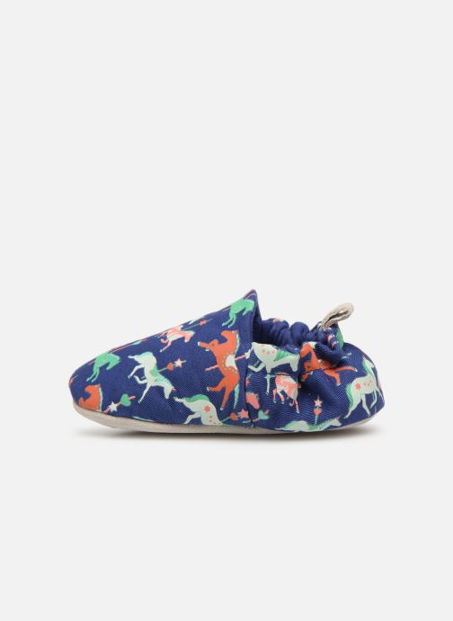 Slippers Poco Nido Carousel Blue front view