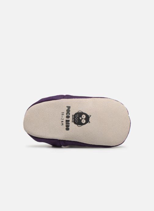Pantofole Poco Nido Midnight Purple Viola immagine dall'alto