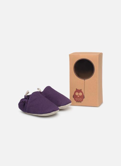 Chaussons Poco Nido Midnight Purple Violet vue détail/paire