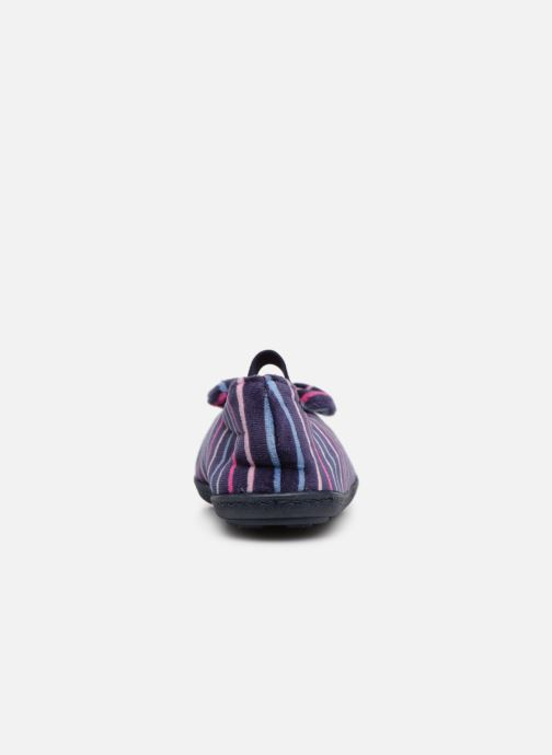 Slippers Isotoner Ballerine Multicolor Multicolor view from the right