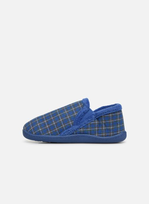 Slippers Isotoner Mocassin V Blue front view