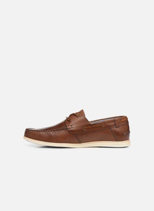 Zapatos con cordones Roadsign Green Marrón vista de frente
