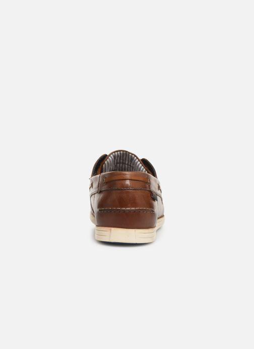 Zapatos con cordones Roadsign Green Marrón vista lateral derecha