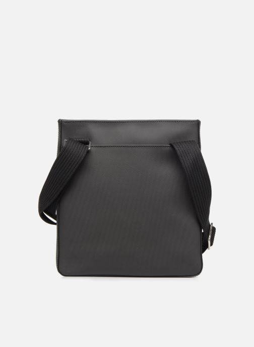 Sacs homme Lacoste MEN'S CLASSIC  FLAT CROSSOVER BAG Noir vue face