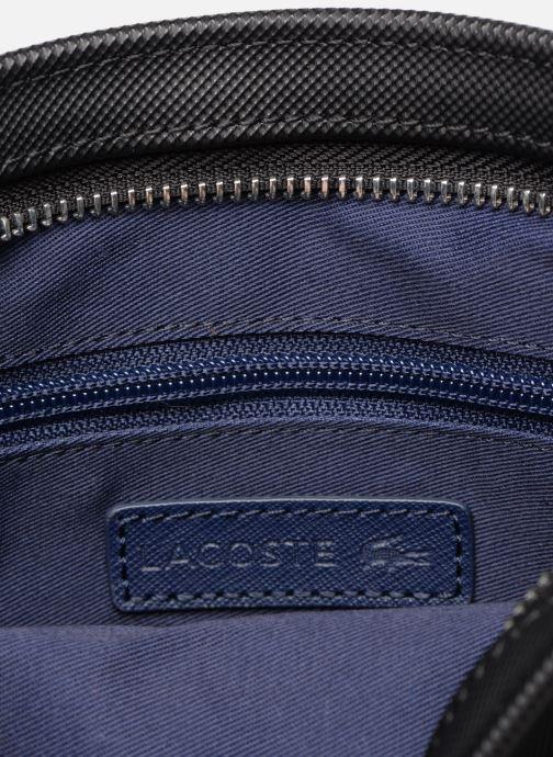 Sacs homme Lacoste MEN'S CLASSIC  FLAT CROSSOVER BAG Noir vue derrière