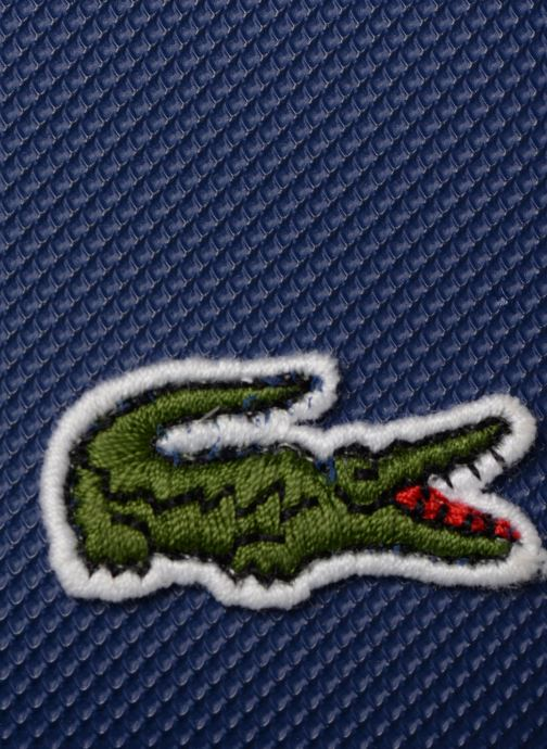Sacs à main Lacoste L.12.12 S FLAT CROSSOVER BAG Bleu vue gauche