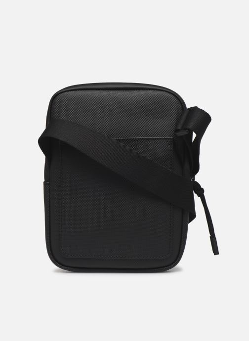 Bolsos de hombre Lacoste L.12.12 S FLAT CROSSOVER BAG Azul vista de frente
