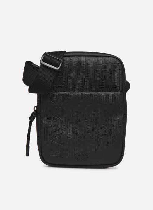 Bolsos de hombre Lacoste L.12.12 S FLAT CROSSOVER BAG Azul vista de detalle / par
