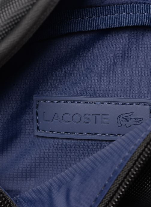 Kleine lederwaren Lacoste L.12.12 CONCEPT WAISTBAG Zwart links