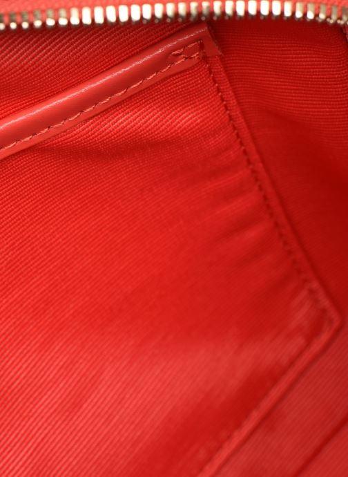 Sacs à main Lacoste CHANTACO CUIR SQUARE CROSSOVER BAG Rouge vue derrière
