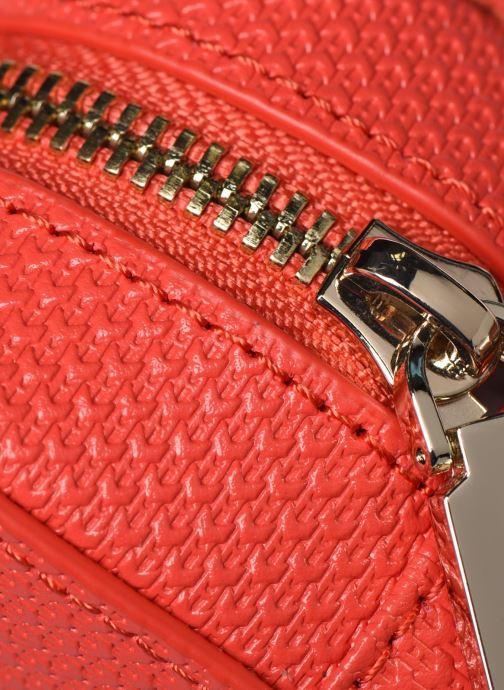 Sacs à main Lacoste CHANTACO CUIR SQUARE CROSSOVER BAG Rouge vue gauche