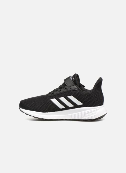 Sport shoes adidas performance Duramo 9 C Black front view